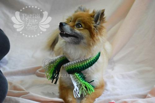 Pet St. Patrick's Day Scarf (XXS-XXL)