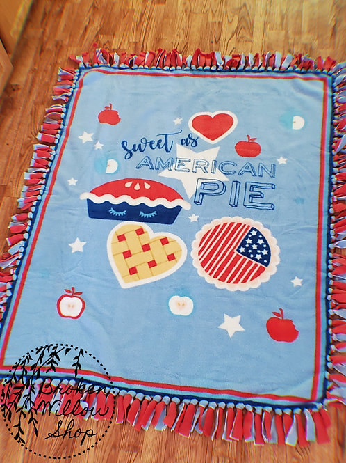 RTS Sweet as American Pie Double Fleece Blanket