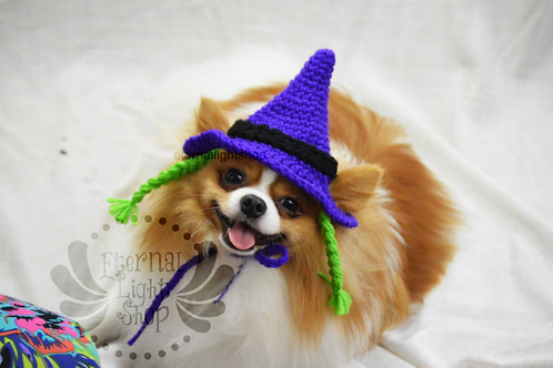 Pet Witches Hat V2 Beanie (XS-XL) Any Colors