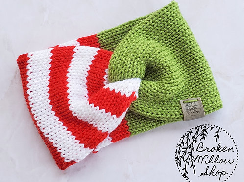 Christmas Adult Double Knit Head Band