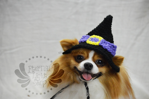 Pet Witches Hat V1 Beanie (XS-XL) Any Colors