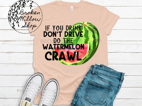If You Drink Don't Drive Do the Watermelon Crawl Printed Unisex T Shirt, Hoodie, Tank Top, Sweat
