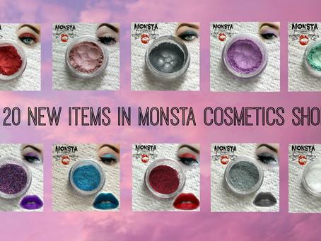 20 New Eye shadows & Glitters!