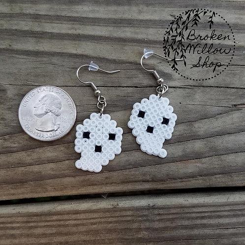 Little Ghosts Mini Perler Earrings