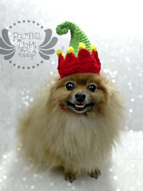 Elf Pet Hat (XS-XL)