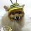Thumbnail: Pet Bumble Bee Beanie (XS-XL)