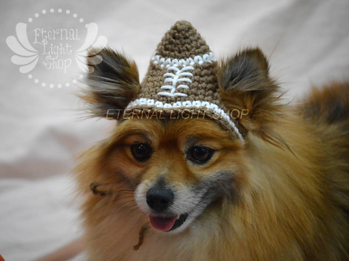 Pet Football Beanie (XS-XL) Any Colors
