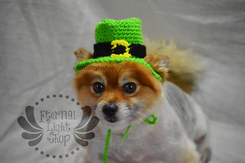 Pet Leprechaun Hat Beanie (XS-XL) Any Colors