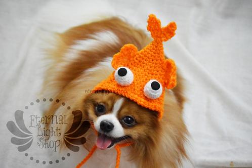 Pet Goldfish Hat Beanie (XS-XL) Any Colors