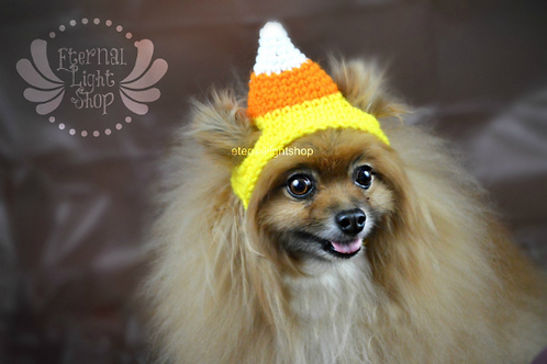 Pet Candy Corn Hat (XS-XL)