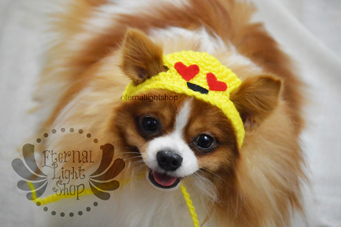Pet Emoji Hat Beanie (XS-XL) Any Colors