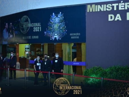 Congresso Internacional cumpre medidas de prevenção e segurança