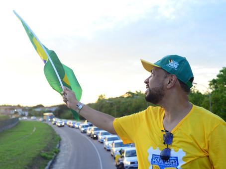 Carreata em Homenagem ao Brasil