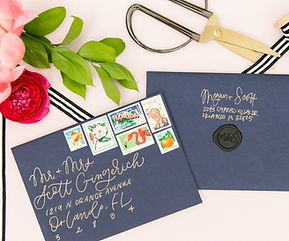 Paper Goat Post specializes in weddng & party invitations. Inside the PGP Studio you will find a curated selection of invitation designs, along with endless options for custom designs. Paper Goat Post also designs personal stationery & has a large selection of greeting cards in their retail shop.