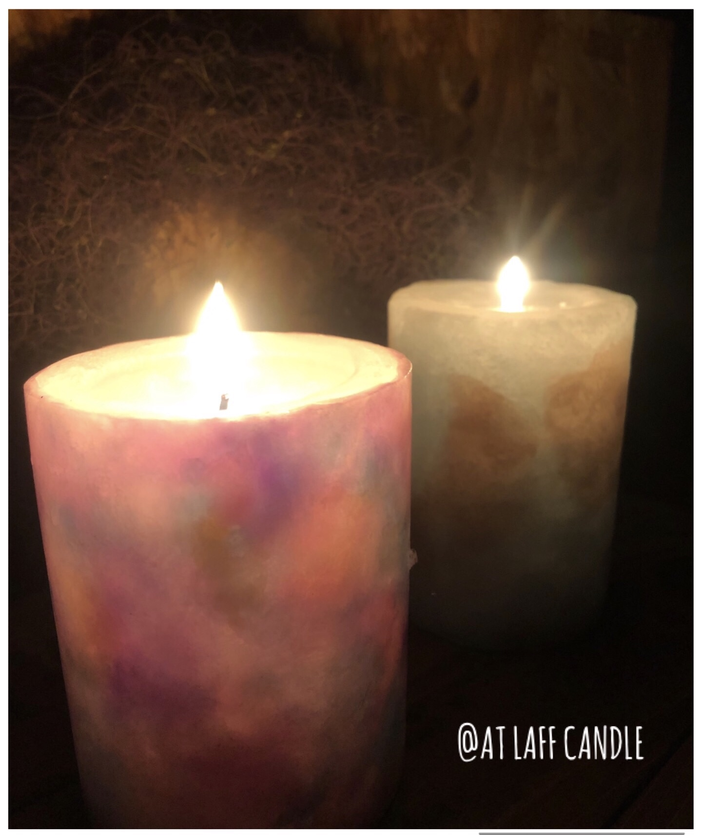 AT LAFF CANDLE