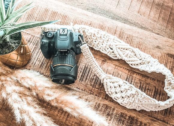 Makramee Kameragurt