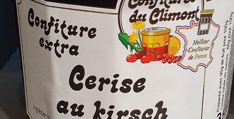 Confiture de Climont  Cerises au Kirsh  (350g)