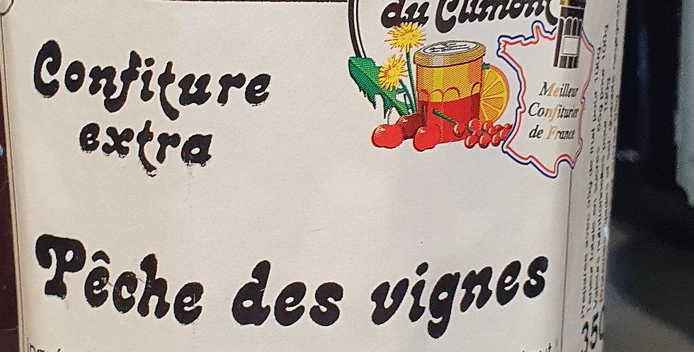 """Confiture de Climont """"Pêche des Vignes"""" (350g)"""