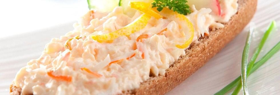 Baguette � la salade de Surimi