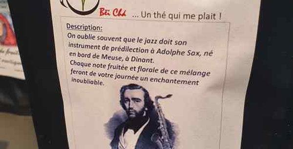 """Thé Bei Cha """"Thé de Sax"""""""