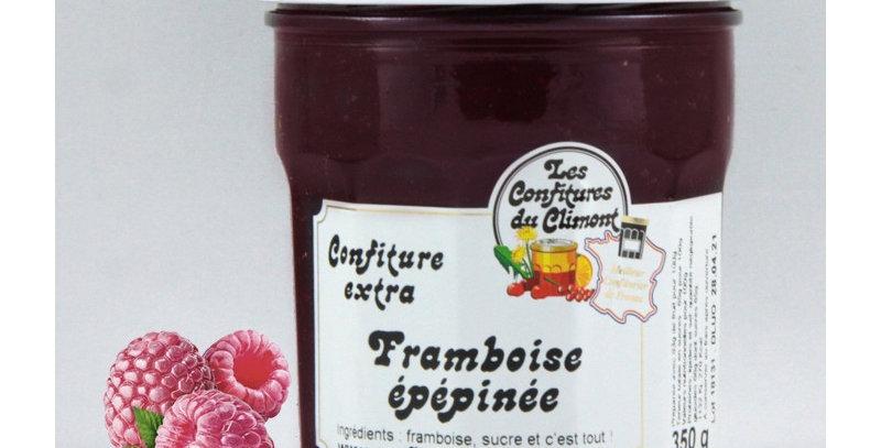 """Confiture de Climont """"Framboise épépinée"""" (350g)"""