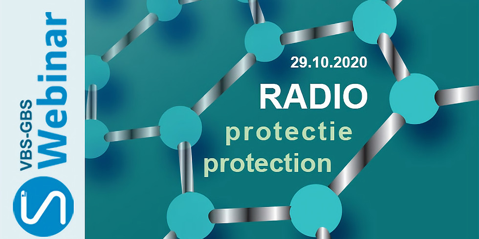 """Webinar GBS """"Radioprotection"""""""