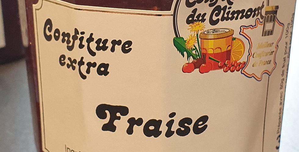 """Confiture de Climont """"Fraises"""" (350g)"""