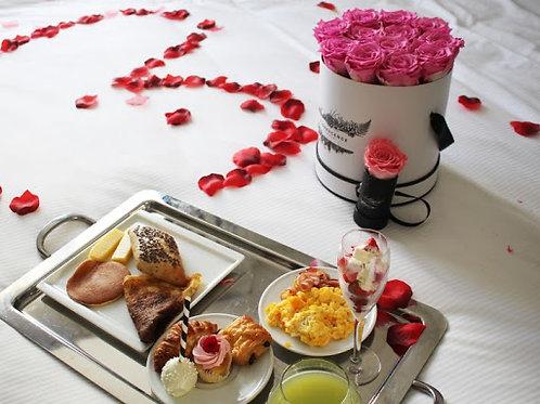 Le Brunch Salé-Sucré de Saint Valentin et sa rose !