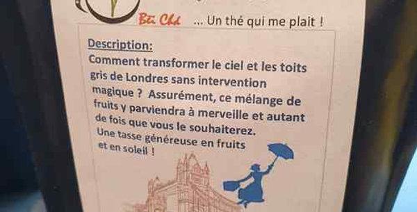 "Tisane Bei Cha ""Mary Poppins"""