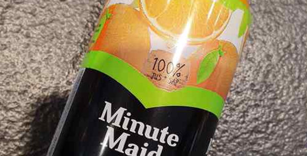 Canette Minute Maid (33cl)