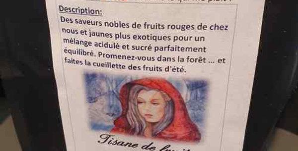"Tisane Bei Cha ""Loup y es-tu ?"""