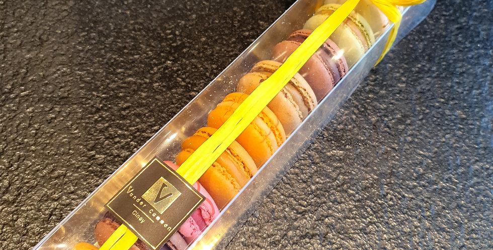Boîte de Macarons (10 pièces) assortiment