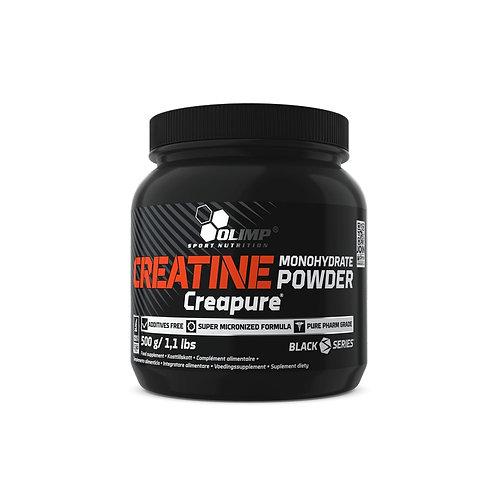 Créatine monohydrate Powder Creapure - Olimp sport nutrition 500g