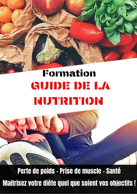 Formation, le guide de la nutrition. Online Fit - coaching en ligne
