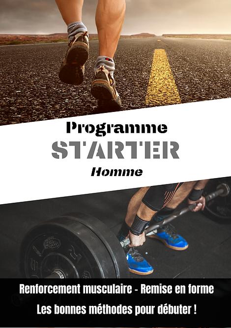 Programme starter - pack débutant - online fit, coaching en ligne