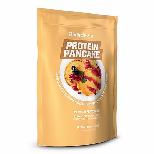 Protéine Pancake 1kg - BioTechUSA. Préparation protéinée pour pancakes et crêpes. Pour collation et déjeuné peu calorique.