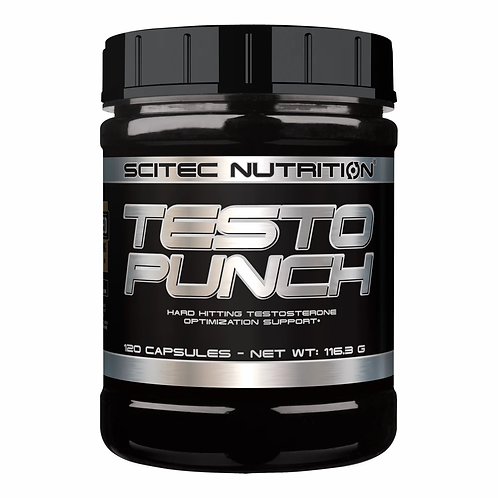 Testo Punch 120 caps - Scitec nutrition