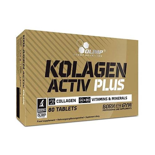 Kolagen Activ Plus Sport Edition 80 tablettes - Olimp Sport Nutrition. Collagène
