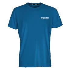 """T-shirt """"Running"""" Femme - Scitec Nutrition. vêtement sport bleu"""