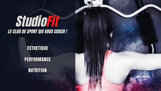 partenaire Studio Fit - Le club qui vous caoch, salle de sport.