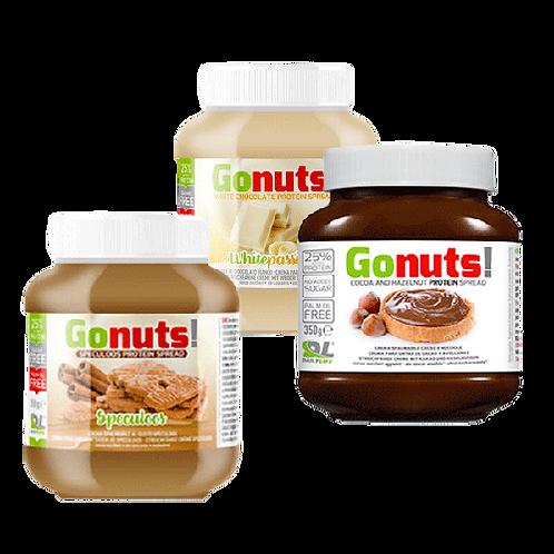 Go Nuts - pâte à tartinée protéinée - 350g sans sucre et sans huile de palme