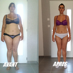 Séverine -20kg en 4 mois