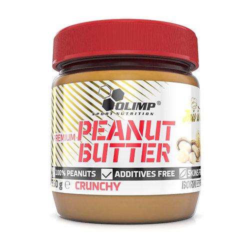 Beurre de cacahuètes naturel 350g - Olimp sport nutrition. Peanut Butter. Sans huile de palme , pauvre en sucre. Protéiné.