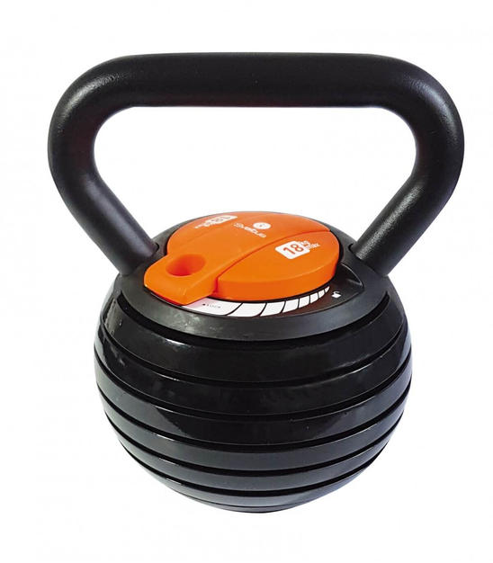 Kettlebell à charge variable ( 4-18kg ) - Sveltus
