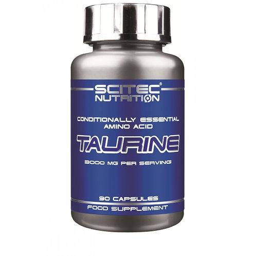 Taurine 90 capsules - Scitec Nutrition. Booster de testostérone, hormonale.