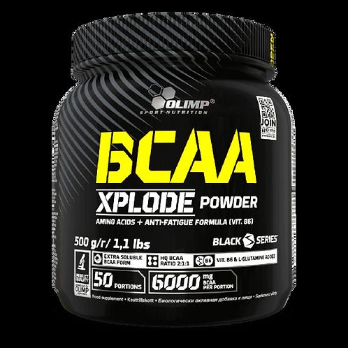BCAA Xplode - Olimp Sport Nutrition. Acide aminé. Récupération pour la musculation et le fitness.