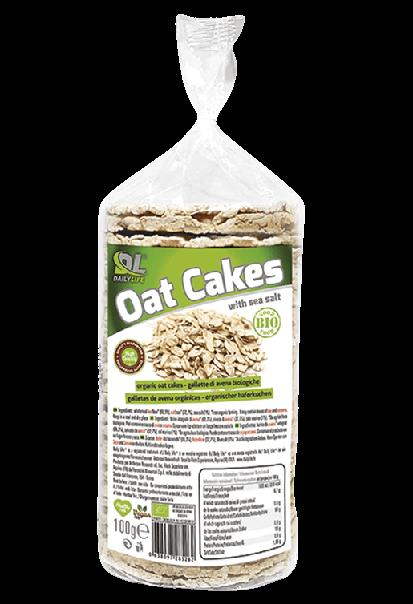 OATS Cakes - Galette d'avoine - Daily Life