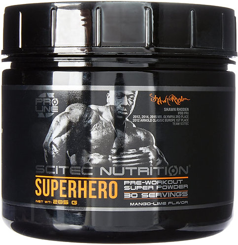 SuperHero pre-workout 285 g - Scitec Nutrition