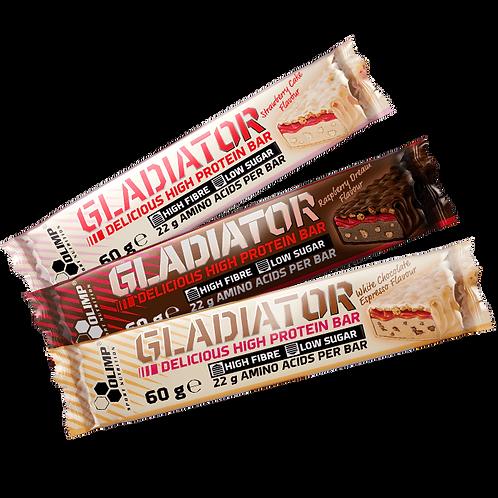 Gladiator High Protein Bar 60g - Olimp Sport Nutrition. Barre de protéine