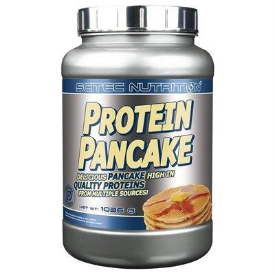 Protein Pancake nature 1036g - Scitec Nutrition. Préparation pour crêpes et pancakes protéinés.
